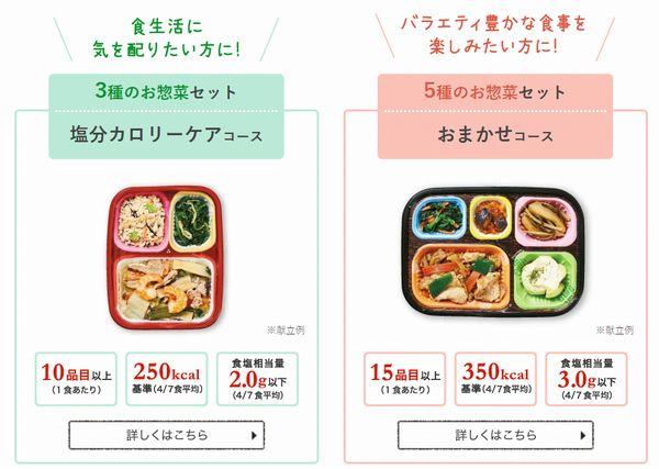 ワタミの宅食ダイレクト・メニュー
