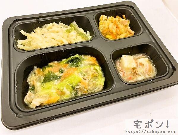 豚肉とチンゲン菜の塩ダレ炒め弁当